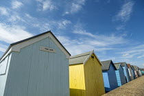 08-08-2019 - Beach huts, Southend, Essex. The Ark © Jess Hurd