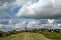 08-08-2019 - Hadleigh Castle, ruined fortification overlooking the Thames Estuary, Essex © Jess Hurd