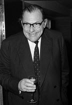 21-12-1971 - Reginald Maudling, wine tasting event, London, 1971 Wine Taster of the Year Competition. © Martin Mayer