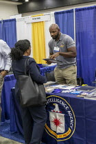 23-07-2019 - Detroit, Michigan, USA: CIA officer recruiting, job fair, NAACP Annual Convention © Jim West
