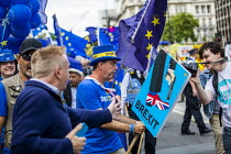 03-09-2019 - Stop The Coup protests for and against the government during the Brexit vote, Westminster, London © Jess Hurd