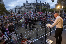 03-09-2019 - Matt Wrack FBU speaking Stop Boris Johnson - General Election Now, People's Assembly Against Austerity protest, Parliament Square, Westminster, London © Jess Hurd