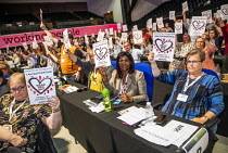 10-09-2019 - Show Racism the Red Card, TUC Congress, Brighton 2019. © Jess Hurd