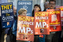 17-09-2019 - Protest against the proroguing Parliament as it is challenged in the Supreme Court, Westminster, London © Jess Hurd