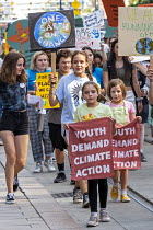 09-20-2019 - Detroit, Michigan, USA Global Climate Strike protest © Jim West