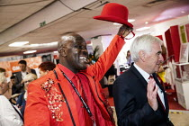 22-09-2019 - Leaver Joseph Afrane and John McDonnell, Labour Party Conference, Brighton, 2019 © Jess Hurd