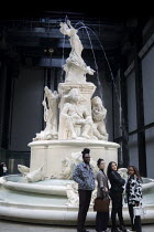 02-10-2018 - Fons Americanus fountain by Kara Walker, Turbine Hall, Tate Modern. Installation by black American artist Kara Walker is loosely based on the Victoria monument outside Buckinham Palace. It is a powefu... © Martin Mayer