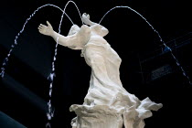 03-10-2019 - Fons Americanus fountain by Kara Walker, Turbine Hall, Tate Modern. Installation by black American artist Kara Walker is loosely based on the Victoria monument outside Buckinham Palace. It is a powefu... © Martin Mayer