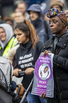 26-10-2019 - Justice for Ricky Bishop, Annual United Families and Friends Campaign march against deaths in police custody, Whitehall, Westminster, London. © Jess Hurd
