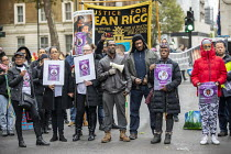 26-10-2019 - Justice for Winston Augustine, Annual United Families and Friends Campaign march against deaths in police custody, Whitehall, Westminster, London. © Jess Hurd