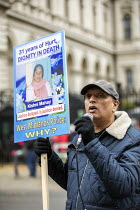 26-10-2019 - Justice for Kishni Mahay, Annual United Families and Friends Campaign march against deaths in police custody, Whitehall, Westminster, London. © Jess Hurd