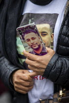 26-10-2019 - Justice for Mohammed Yassar Yaqub, parents, Annual United Families and Friends Campaign march against deaths in police custody, Whitehall, Westminster, London. © Jess Hurd