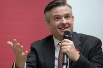 04-11-2019 - Jonathan Ashworth speaking Labour Party election meeting with NHS staff, Unison HQ, London © Philip Wolmuth