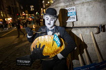 03-12-2019 - Charlie Chaplin, NHS Not for Sale, No to Trump, No to NATO Protest London © Jess Hurd