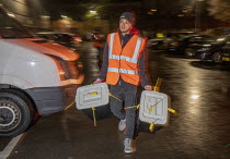 12-12-2019 - Ballot boxes arriving, vote counting, Bristol © Paul Box