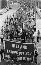 12-08-1979 - Troops Out protest, London 1979 against British troops in Northern Ireland and H-Block © NLA