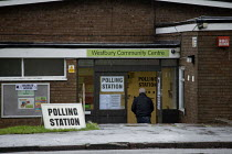 12-12-2019 - Polling station, Leamington Spa, Warwickshire © John Harris