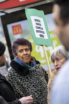 27-01-2020 - Moyra Samuels, Justice4Grenfell, Grenfell Fire Inquiry phase two, day one, Kensington residents campaigning for Justice, Paddington, London © Jess Hurd
