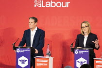 16-02-2020 - Keir Starmer, Rebecca Long Bailey, Labour Leadership Hustings, hosted by Co-coperative Party, Business Design Centre, North London. © Jess Hurd