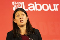 16-02-2020 - Lisa Nandy, Labour Leadership Hustings, hosted by Co-coperative Party, Business Design Centre, North London. © Jess Hurd