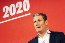 16-02-2020 - Keir Starmer, Labour Leadership Hustings, hosted by Co-coperative Party, Business Design Centre, North London. © Jess Hurd