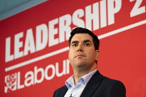 16-02-2020 - Richard Burgon speaking Labour Deputy Leadership Hustings, hosted by Co-coperative Party, Business Design Centre, North London. © Jess Hurd