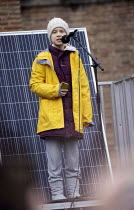 28-02-2020 - Greta Thunberg speaking, Bristol Youth Strike 4 Climate protest © Paul Box