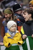 28-02-2020 - Greta Thunberg leading Bristol Youth Strike 4 Climate protest © Paul Box