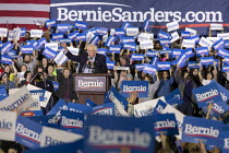 06-03-2020 - Detroit, Michigan, USA, Bernie Sanders presidential campaign rally © Jim West