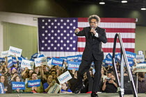 06-03-2020 - Detroit, Michigan, USA, Dr. Cornel West speaking, Bernie Sanders presidential campaign rally © Jim West