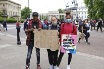 03-06-2020 - Black Lives Matter protest in solidarity with George Floyd protests, London © Duncan Phillips