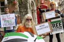 04-07-2020 - Palestine Solidarity Campaign Protest against Israeli annexation of the West Bank, End Apartheid, Altab Ali Park, Tower Hamlets, East London, in a national day of action © Jess Hurd