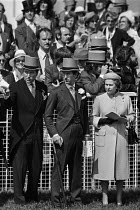 06-06-1979 - 1979 Epsom Derby, The Queen and Prince Charles © Peter Arkell