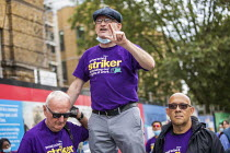 17-08-2020 - John McLoughlin UNISON Tower Hamlets council workers strike against Tower Rewards, a contract imposing worse terms and conditions, Whitechapel, London. © Jess Hurd