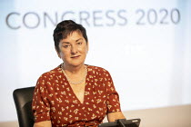 14-09-2020 - Mary Bousted, NEU at TUC Congress 2020 online, Congress House, London. © Jess Hurd