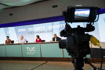14-09-2020 - Ged Nichols Accord speaking TUC Congress 2020 online, Congress House, London. © Jess Hurd