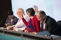 15-09-2020 - Mary Bousted, NEU, Ged Nicols Accord, Frances O'Grady, Paul Nowak TUC Congress 2020 online, Congress House, London. © Jess Hurd