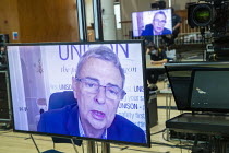 15-09-2020 - Dave Prentis, UNISON speaking, TUC Congress 2020 online, Congress House, London. © Jess Hurd