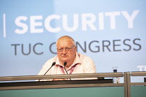 15-09-2020 - Ged Nichols, Accord TUC Congress 2020 online, Congress House, London. © Jess Hurd