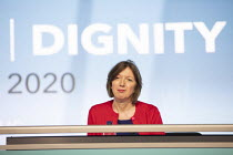 15-09-2020 - Frances O'Grady speaking at TUC Congress 2020 online, Congress House, London. © Jess Hurd