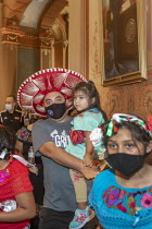 16-09-2020 - Michigan, USA. Activists Demand Drivers Licenses for All Rally in the Michigan State Capitol building demanding that the legislature allow undocumented immigrants to get drivers licenses.