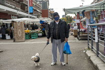 15-10-2020 - Shoppers, Watney Market, Stepney, East London. © Jess Hurd
