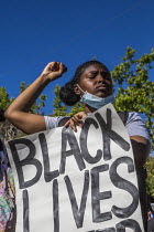 09-06-2019 - California, USA. Students and teachers protest at the police murder of George Floyd in Minneapolis © David Bacon