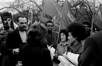08-12-1970 - Kill The Bill protest against the Industrial Relations Act, London, 1970. Barbara Beese (R) © Sally Fraser