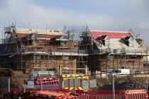 02-11-2020 - Construction of new luxury homes on the edge of town, Stratford upon Avon, Warwickshire © John Harris