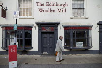 11-07-2020 - Closed The Edinburgh Woollen Mill, the company has gone into into administration, Stratford Upon Avon, Warwickshire © John Harris