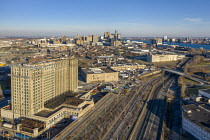 28-11-2020 - Detroit, USA. Michigan Central Station to be redeveloped by Ford Motor Company. It served as the main Detroit railway station from 1914 to 1988. Ford plans to turn the building into a hub for its auto... © Jim West