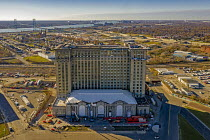 18-11-2020 - Detroit, USA. Michigan Central Station to be redeveloped by Ford Motor Company. It served as the main Detroit railway station from 1914 to 1988. Ford plans to turn the building into a hub for its auto... © Jim West