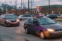 13-12-2020 - Michigan, USA. Car Top Menorah Parade, fourth night of Hanukkah © Jim West