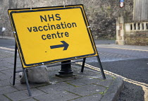 10-01-2021 - NHS Vaccination centre, Clifton, Bristol. © Paul Box